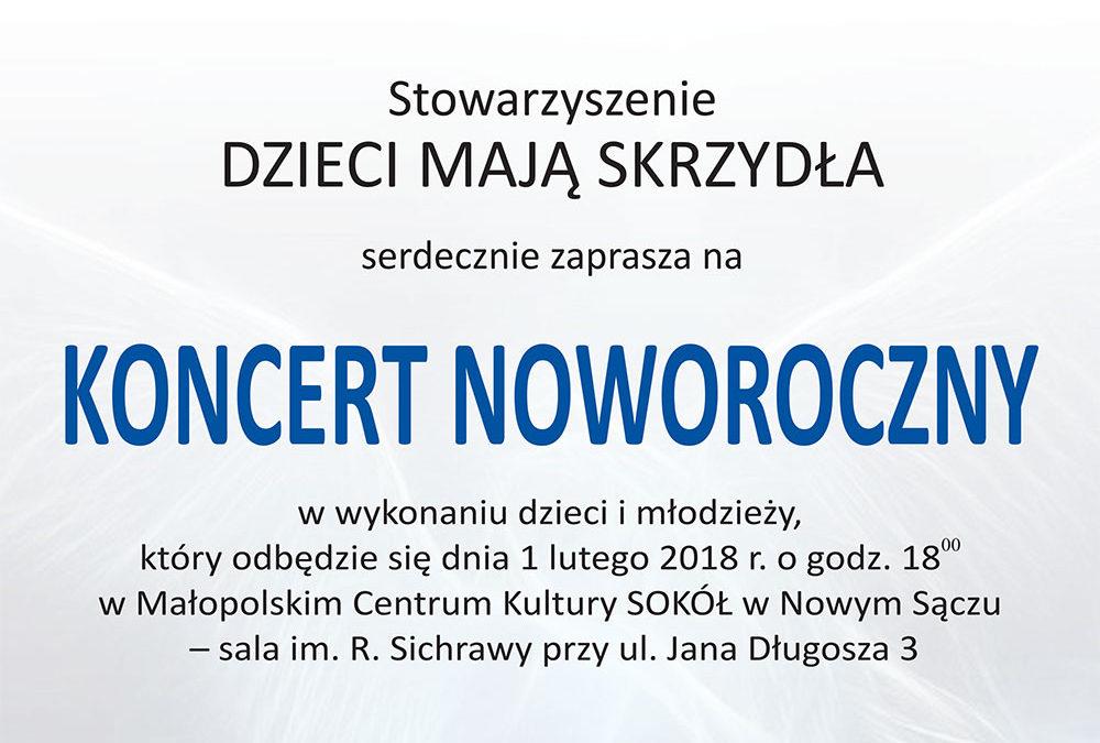 Zaproszenie na Koncert Noworoczny