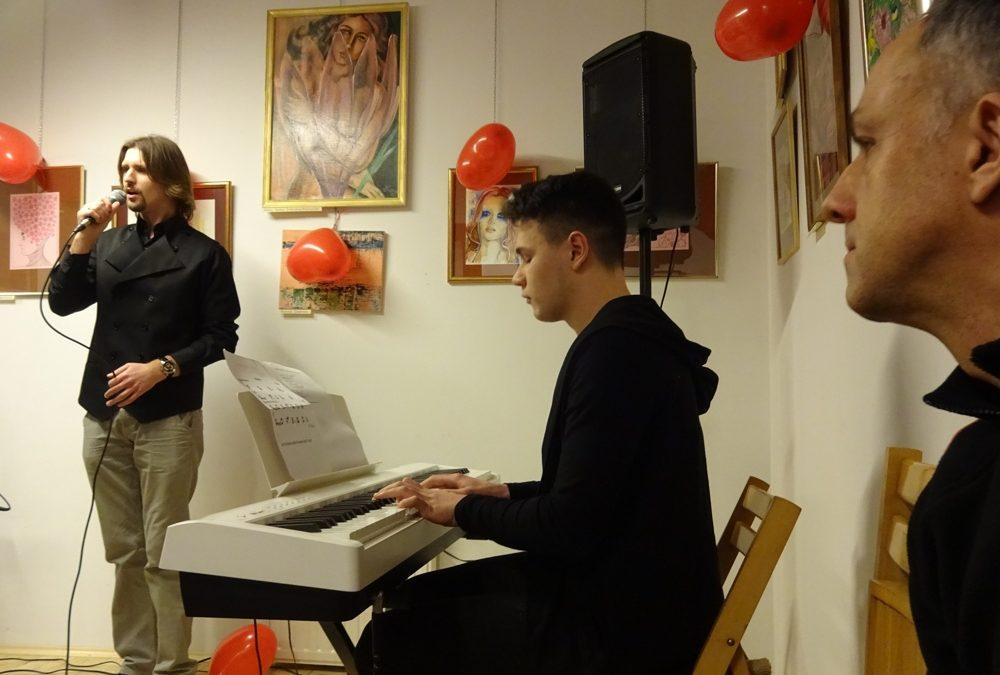 Koncert w siedzibie Towarzystwa Przyjaciół Sztuk Pięknych w Nowym Sączu